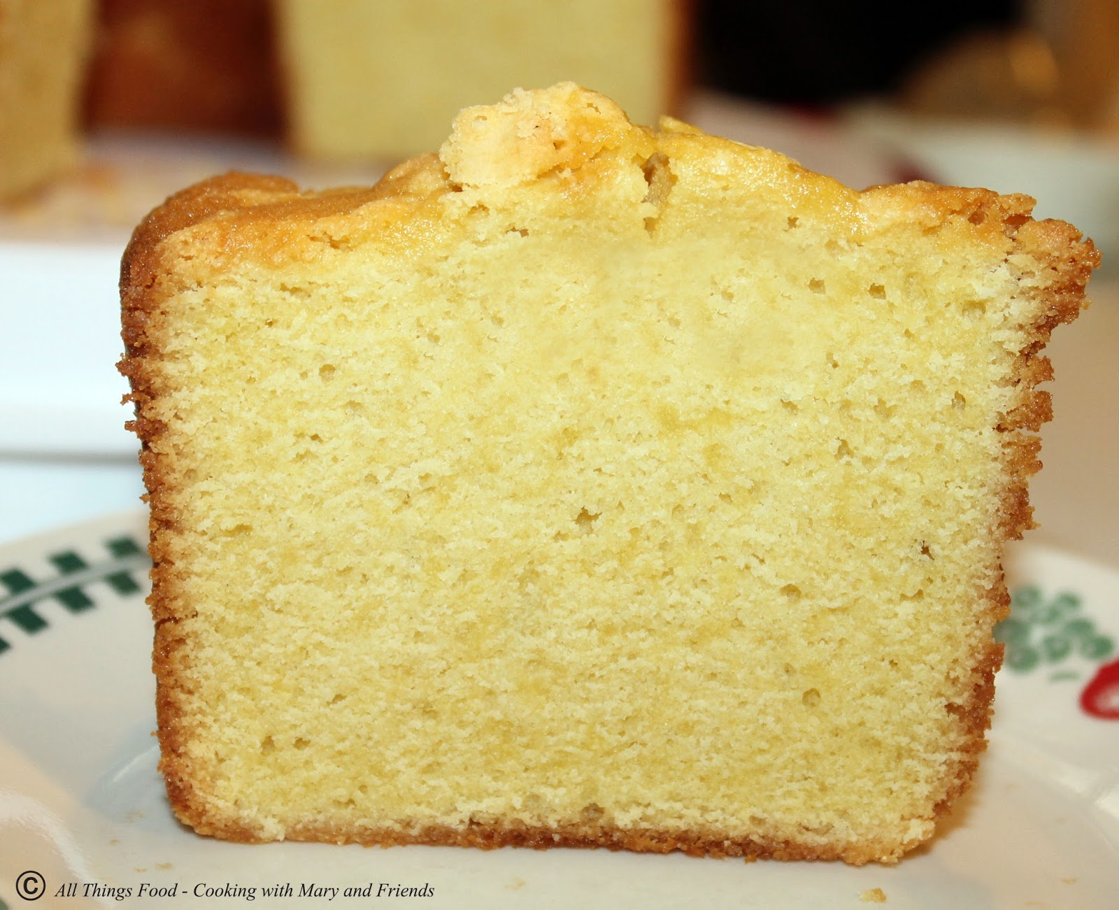 Old Fashioned Whipping Cream Pound Cake