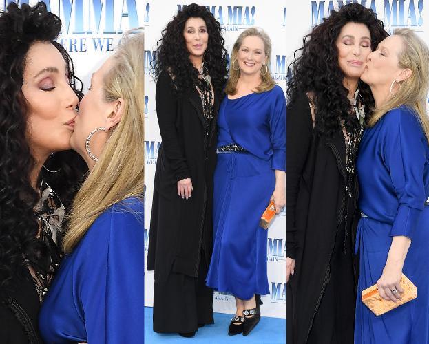 Video: Cher & Meryl Streep - Super Trouper