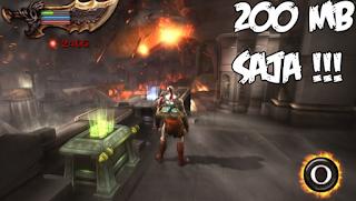 God of war High Compres 200MB PSP