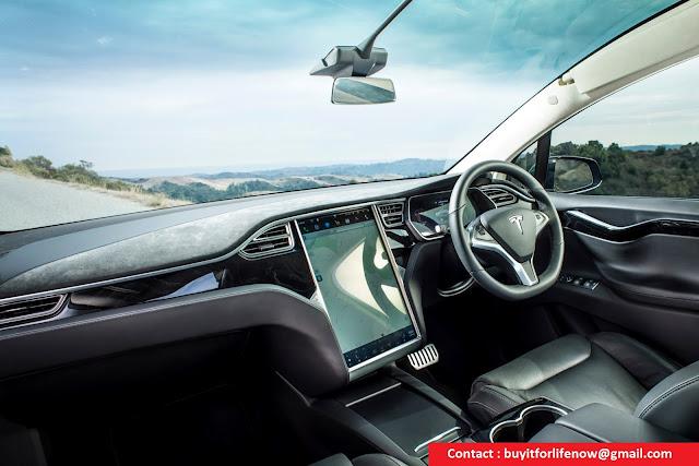 2017 Tesla Model X Interior 75d Pictures Amp Videos