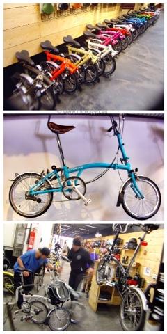 Tienda Bike Gracia, barcelona, Brompton