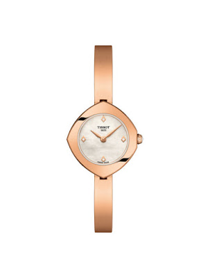 Ceas Tissot T1131093311600 dama elegant auriu cu curea metalica