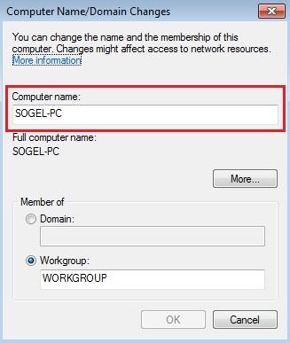 Ganti Username Komputer