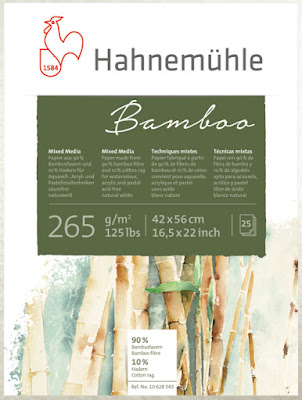 Hahnemühle Bamboo mixed media paper pad