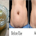 Say Goodbye To Stomach Fats With Only 2 Tablespoon Of This Mixture!