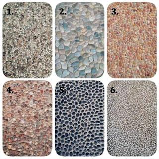 Contoh Gambar Batu Alam Koral Sikat untuk Templek Dinding Rumah Minimalis