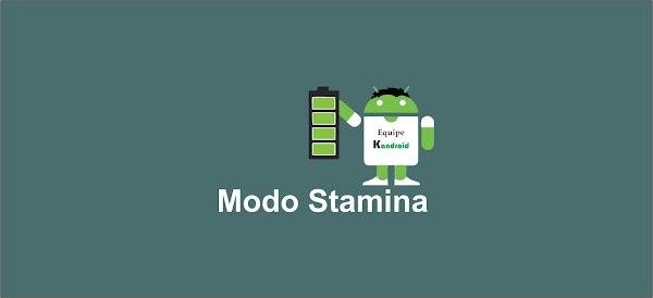 Modo Stamina esta de volta no Android MM da Sony !