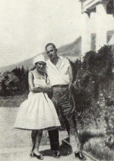 Владимир Маяковский и Лилия Брик  в Алуште