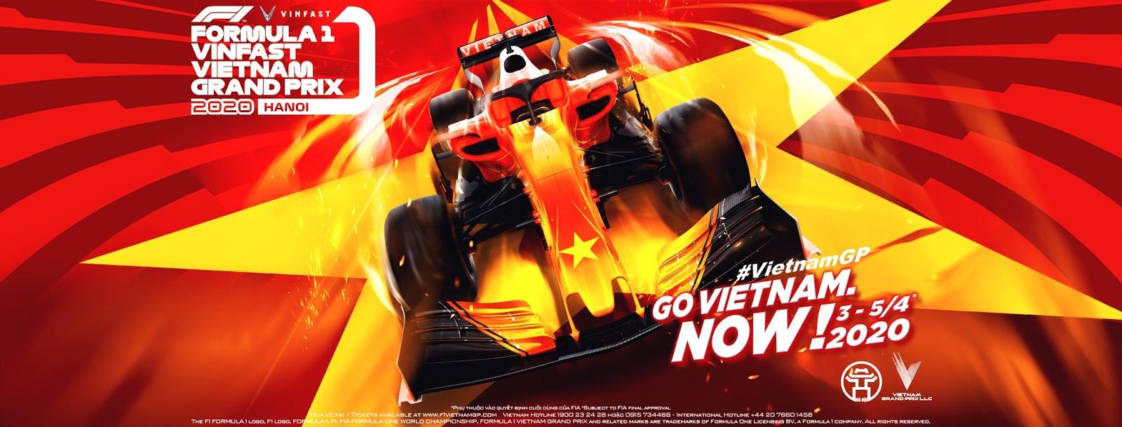 Chỉ từ 700,000đ sở hữu ngay vé xem tận mắt cuộc đua xe công thứ 1 VinFast Vietnam Grand Prix
