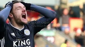 ليستر سيتي يخسر في المباراة الثانيه على التوالي في الدوري الانجليزي امام نادي بيرنلي