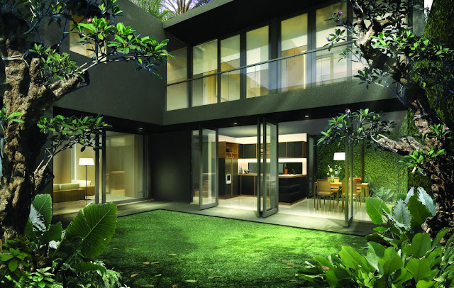 Desain Interior Rumah Tropis