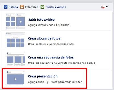 Crear vídeos de presentación con llamada a la acción en facebook