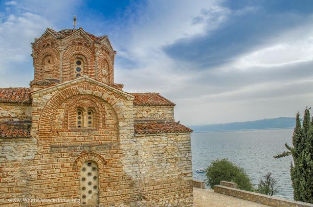 St. John Kaneo church on Ohrid Lake, Macedonia