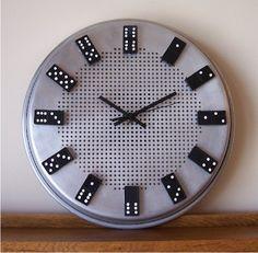 Resultado de imagem para Relógio De dominó