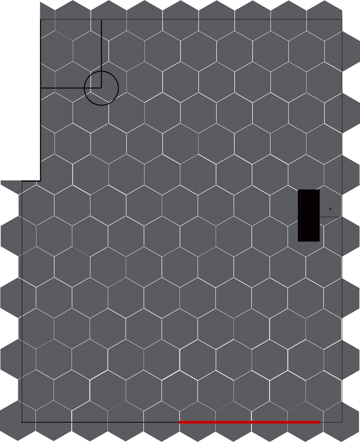 How To Lay Hexagon Tile Week 3 Of