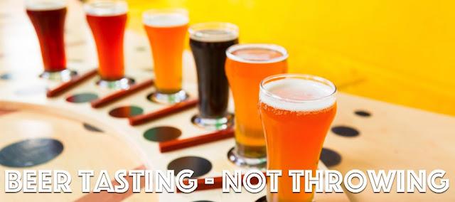 6 beers ready to taste
