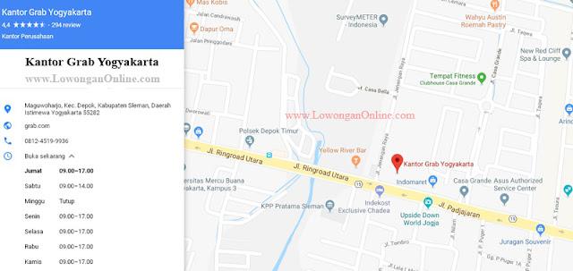 Kantor Grab Yogyakarta