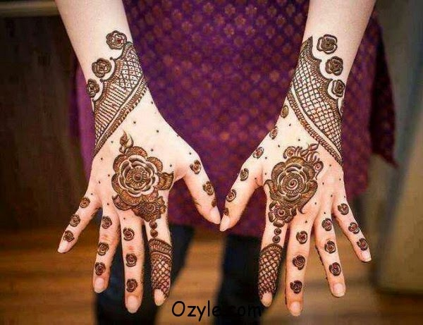 Fantastic Mehndi Design Collection fashionwearstyle.com