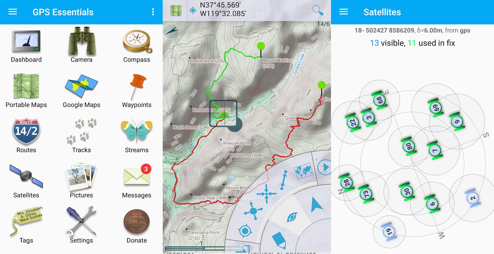GPS MÁS COMPLETO PARA GESTIONAR WAYPOINTS, TRACKS, RUTAS