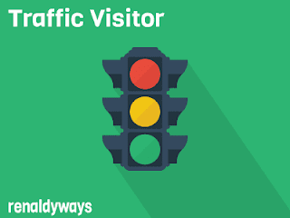 Cara Membuat Widget Traffic Visitors / Pengunjung Di Blog