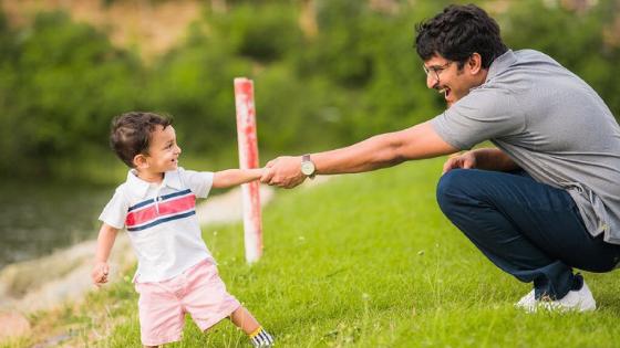 Nani with Son