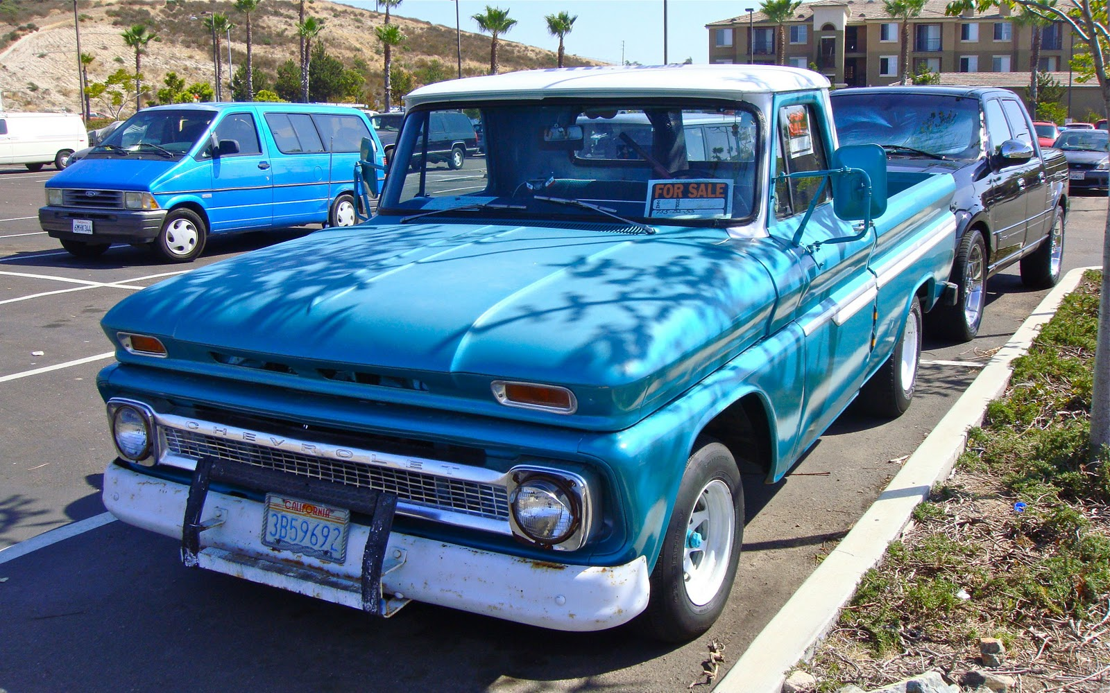 The Street Peep 1966 Chevrolet C10 Chevy Stepside