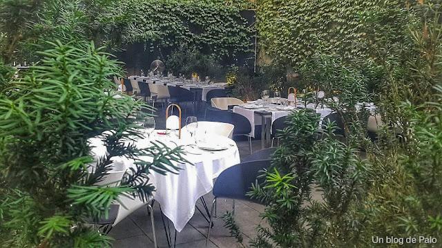 Jardin del Hotel Alma