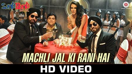 Machli Jal Ki Rani Hai Santa Banta Pvt Ltd Sonu Nigam & Vikas Bhalla with Boman Irani & Vir Das
