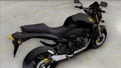 Honda HORNET 2010 ORIGINAL para GTA San Andreas 2
