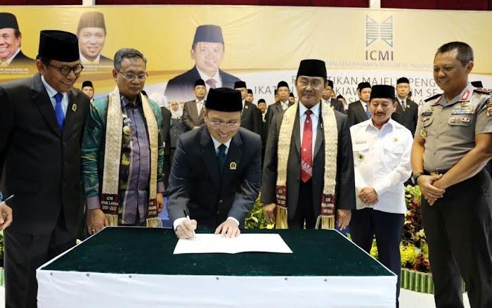 Sekdaprov Berharap : ICMI Mampu Bangkit Ikut Serta Mensejahtrakan Masyarakat Lampung.