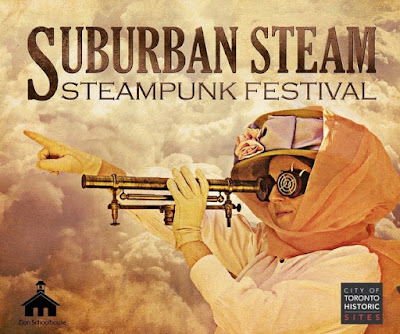 A steampunk event in north york, ontario, canada. Suburban Steam Steampunk Festival at Zion School August 2016
