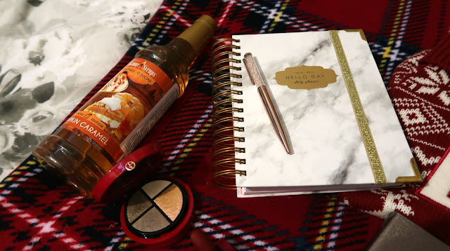 Danielle Levy, monthly favourites, skinny syrups, hello day planner, armani beauty, rouge d'armani matte, matalan stocking, matalan, zodiac notebook set, Liverpool blogger,