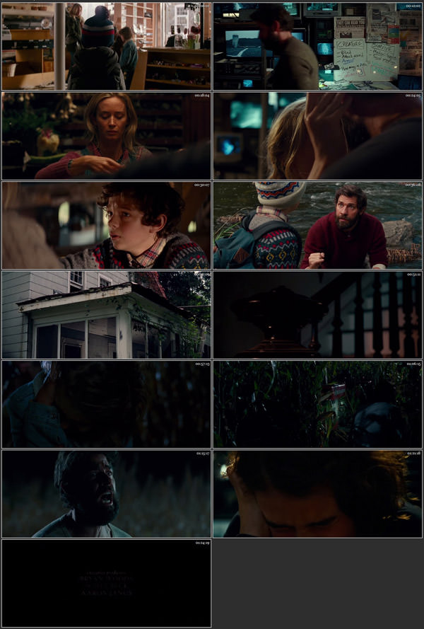 A Quiet Place 2018 English