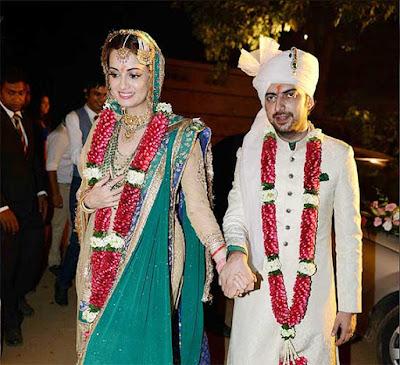 celebration-of-love-Diya-Mirza-Sahil-Sangha