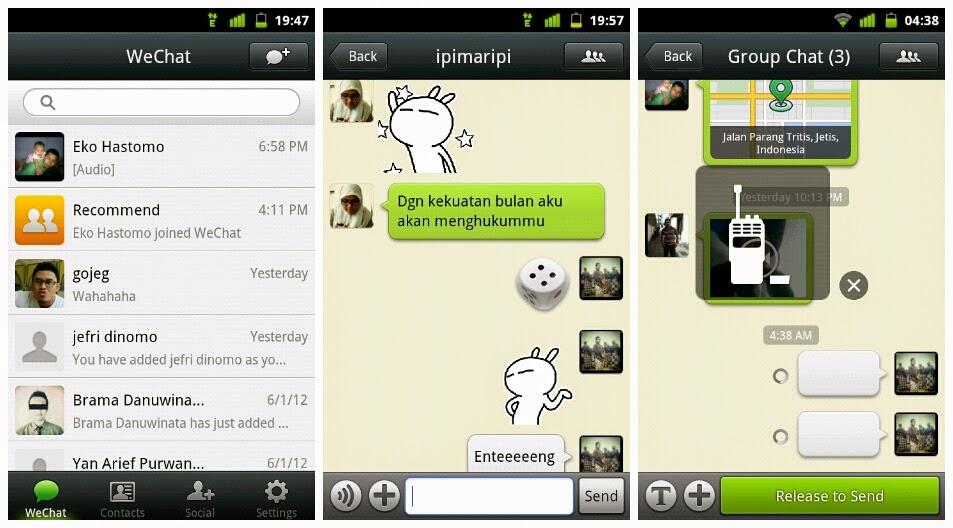 Download APLIKASI WECHAT via Google Play Store