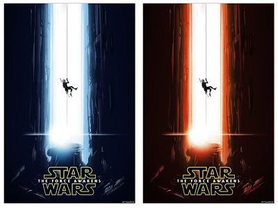 Star Wars The Force Awakens Screen Print by Lee Garbett x Bottleneck Gallery - Regular & Variant Editions