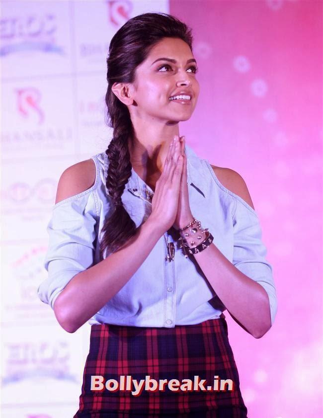 Deepika Padukone, Deepika Ranveer Promote Movie Ram Leela