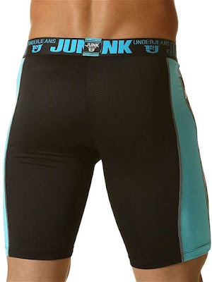 Junk Flash Bike Brief Underwear Aqua Blue Back Gayrado Online Shop