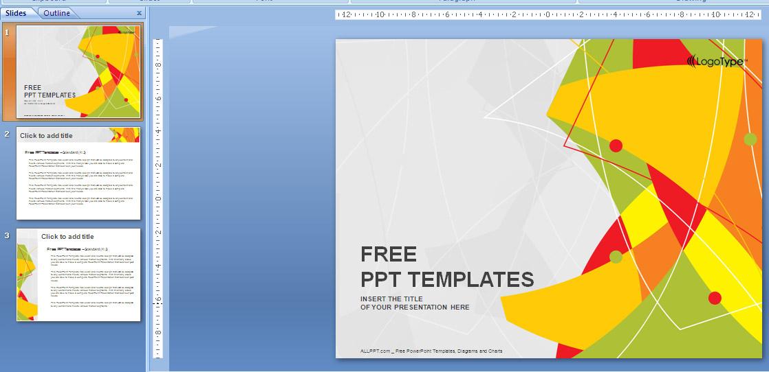 ennisa hikari download template powerpoint keren untuk