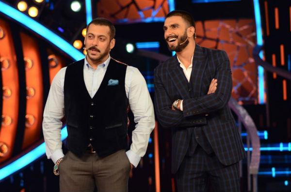 Salman Khan considers Ranveer Singh?