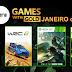 Games with Gold - Janeiro de 2019