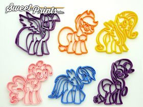 Sweetprints Pony Cookie Cutters