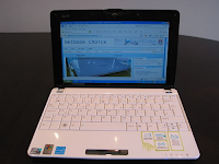 Laptop Asus Eee PC 1005HAB Blue Review Spesification