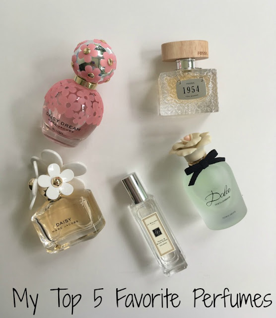 My Top 5 Favorite Perfumes