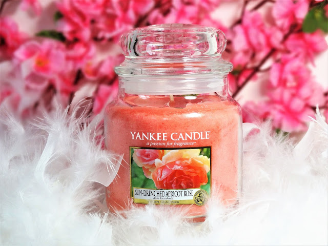 avis Sun-Drenched Apricot Rose (Rose succulente), blog bougie, avis yankee candle