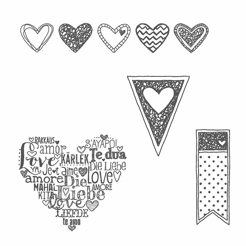 Stamp with Sandy: Language of Love, FMS118