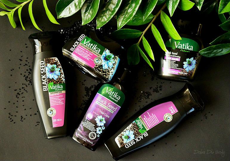 Dabur Vatika Black Seed kosmetyki do pielęgnacji włosów z czarnuszką