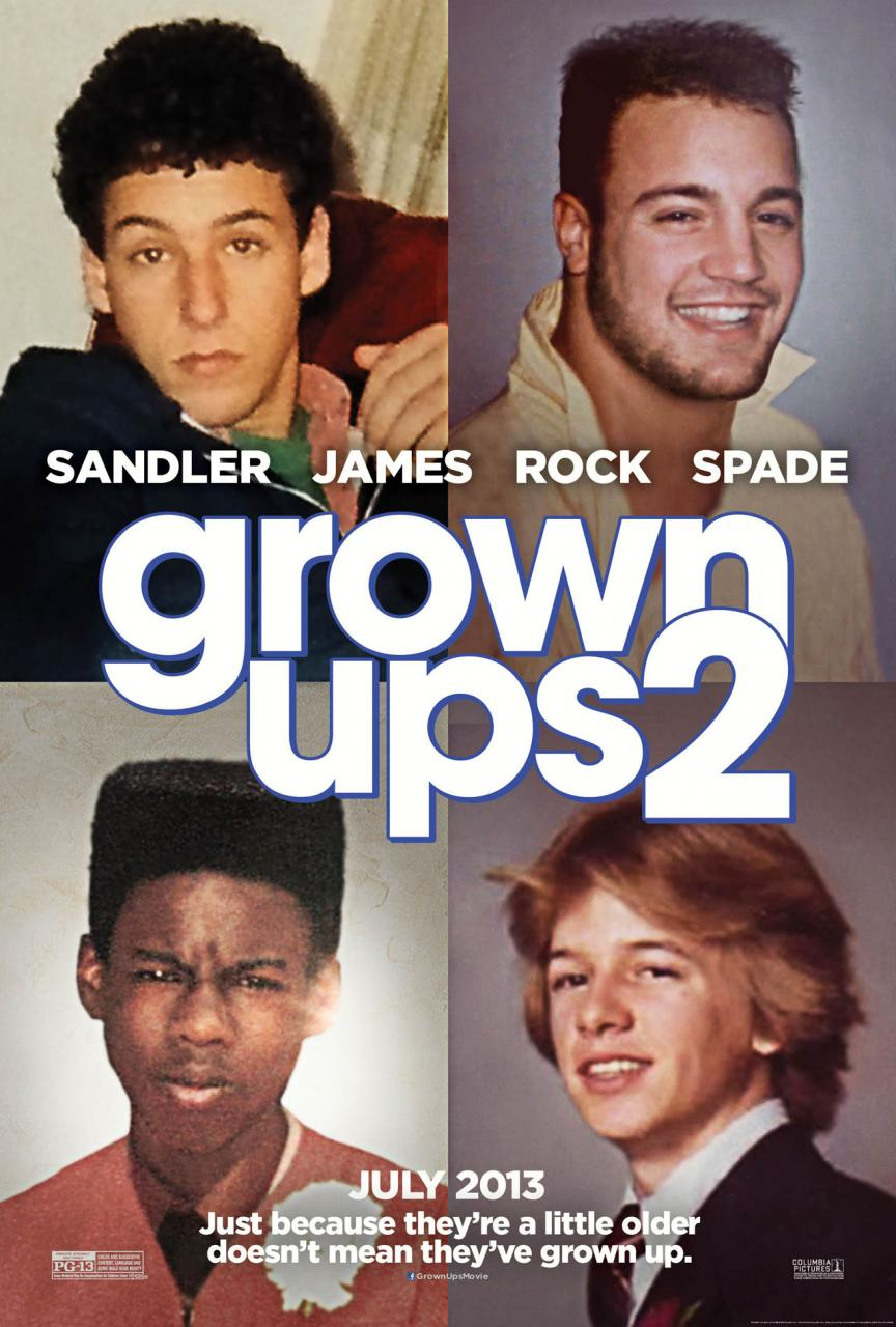 Aylmer to Zazzoo and Beyond: Grown Ups 2 - Review