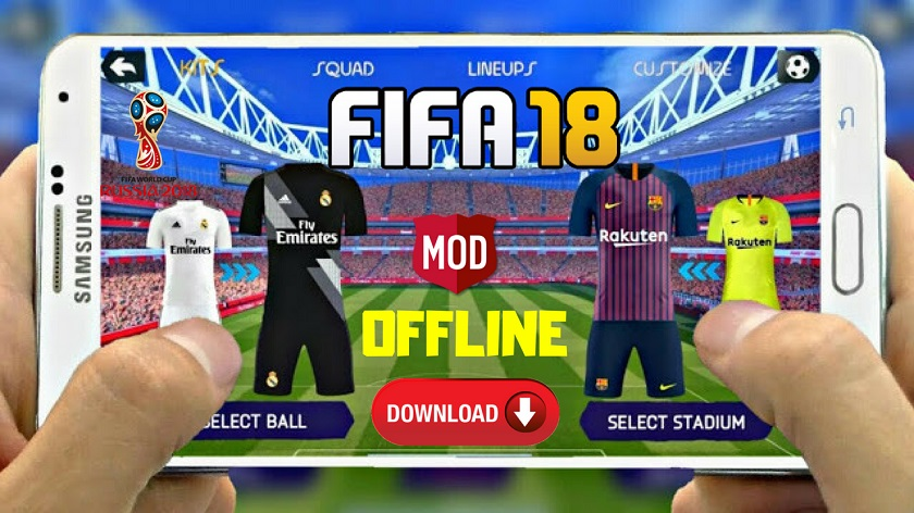 Download FIFA 18 Offline Mod for Android - Android Game7 | Free