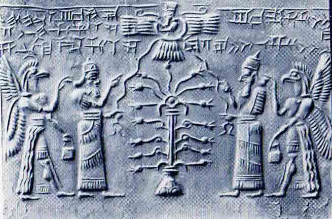 Resultado de imagen de TRINIDAD SUMERIA: El dios lunar, el señor de los cielos y el dios solar.